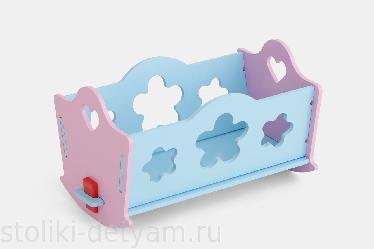 Кукольная кроватка для Baby Born К2-РГ Столики Детям