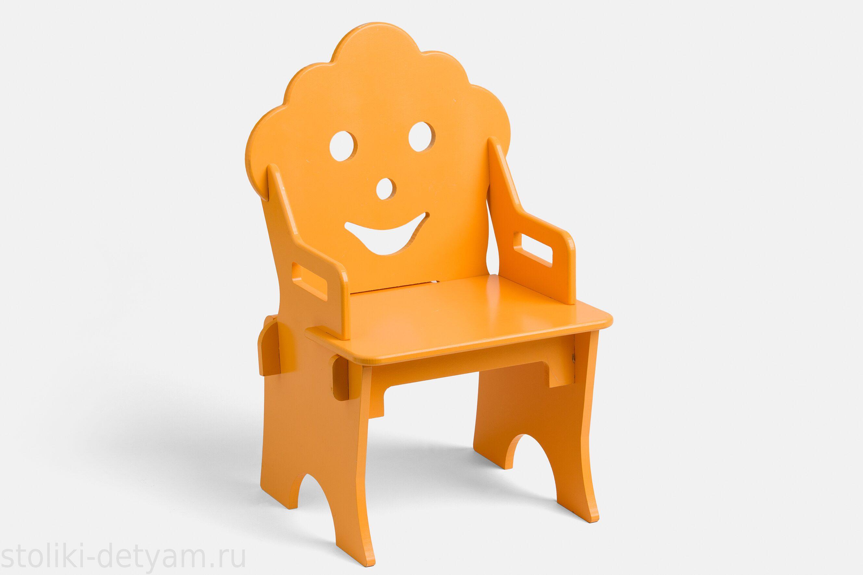 """Детский стульчик """"Гном"""", оранжевый СГ-О Столики Детям"""