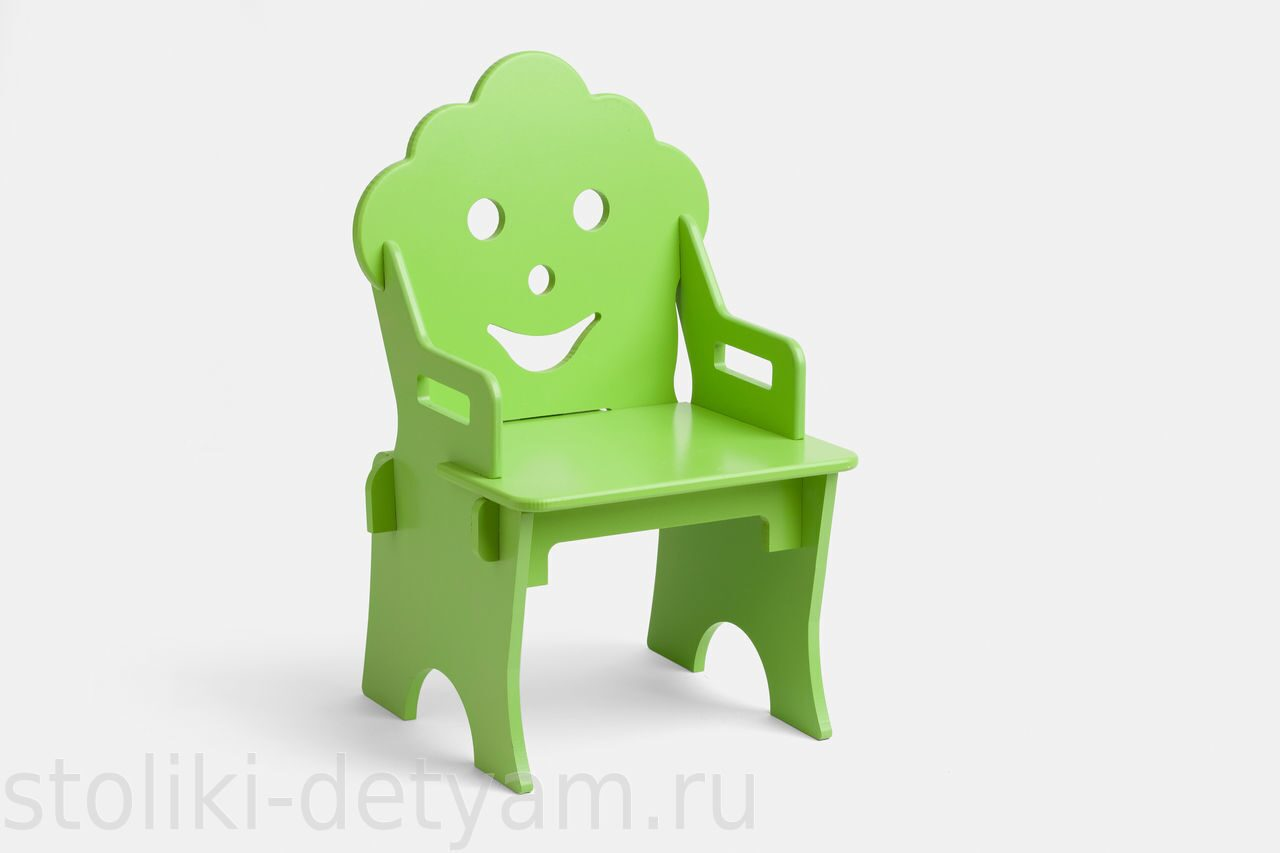 """Детский стульчик """"Гном"""", салатовый СГ-С Столики Детям"""