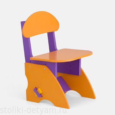 Детский стульчик регулируемый по высоте ФО Столики Детям