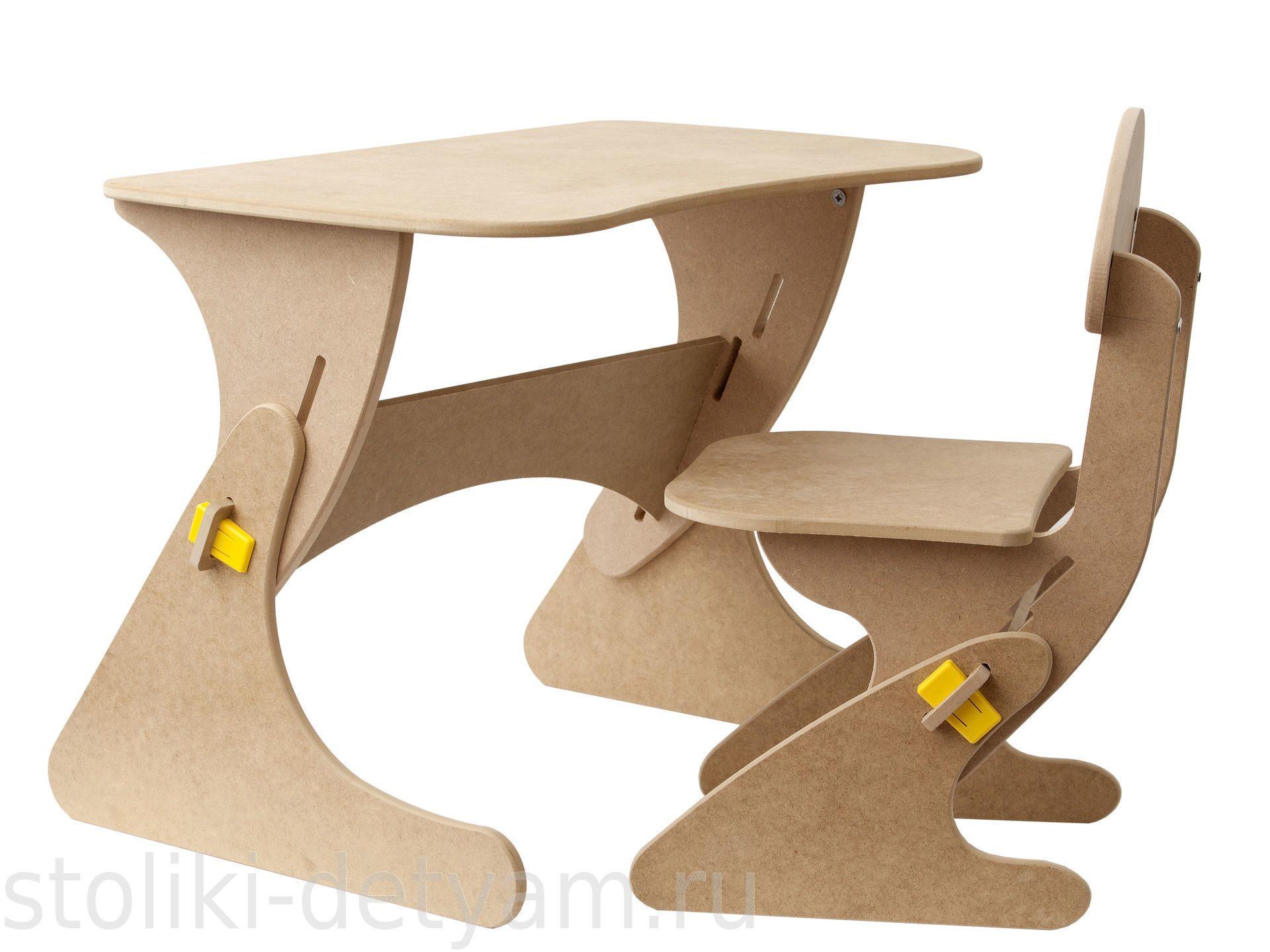 """Столик со стульчиком """"Буслик"""" любой цвет Б+ Столики Детям"""